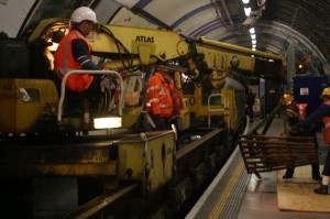 Piccadilly Line Engineering Train